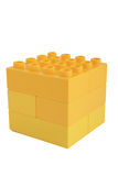 Plastic cube Royalty Free Stock Photos