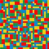 Plastic cube Stock Image