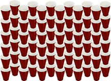 Plastic cup background Royalty Free Stock Photography