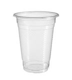 Plastic cup. With clipping path isolated on white background Stock Photo