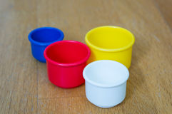 Plastic cup Stock Photography