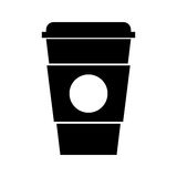 Plastic cup isolated icon. Vector illustration design Stock Photos