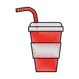 Plastic cup isolated icon. Vector illustration design Royalty Free Stock Photo