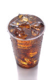 Plastic Cup with Soda Stock Photo