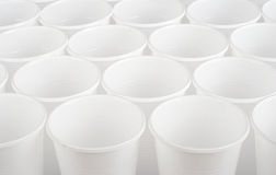 Plastic cups Stock Photography