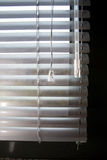 Plastic curtain. Detail of a plastic curtain on a window Stock Photos