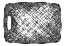 Plastic Cutting board stock illustration
