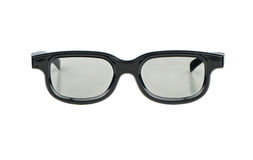 Plastic 3D glasses Stock Image