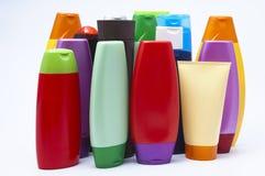 Plastic de flessenveinzerij van de kleur Stock Afbeelding