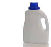 Plastic detergent bottle Royalty Free Stock Photo