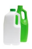 Plastic Detergent Bottles Royalty Free Stock Image