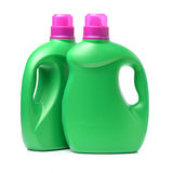 Plastic detergent container Stock Photo