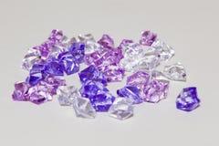 Plastic diamanten Royalty-vrije Stock Foto's