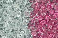 Plastic Diamond Bead Royalty Free Stock Images