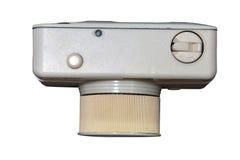Plastic die fisheyecamera op wit wordt geïsoleerd Royalty-vrije Stock Afbeelding