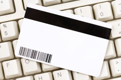 Plastic Digital Data Card Royalty Free Stock Image