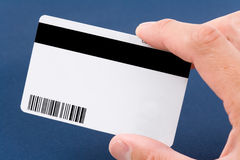 Plastic Digital Data Card Royalty Free Stock Photos