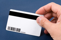 Plastic Digital Data Card Royalty Free Stock Photo