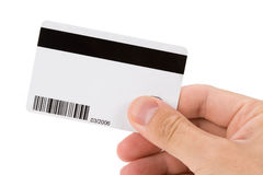 Plastic Digital Data Card Stock Photo