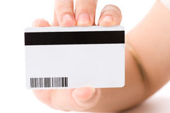 Plastic Digital Data Card Royalty Free Stock Images
