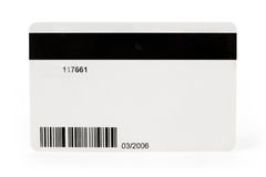 Plastic Digital Data Card Royalty Free Stock Photography