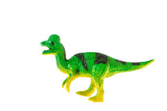 Plastic dinosaur toy Royalty Free Stock Image