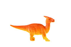 Plastic dinosaur toy Stock Images