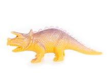 Plastic dinosaur toy. Stock Photo