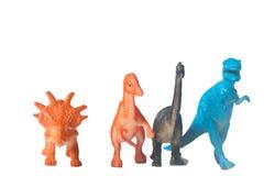 Plastic Dinosaurus royalty-vrije stock afbeeldingen