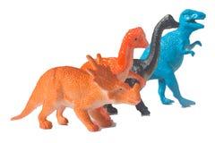 Plastic Dinosaurus stock fotografie