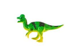 Plastic dinosaurusstuk speelgoed royalty-vrije stock afbeelding