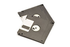 Plastic diskettes Royalty Free Stock Photo