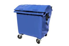 Plastic disposal container Royalty Free Stock Photo