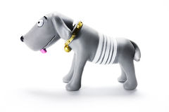 Plastic Dog Figurine Stock Image