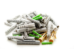Plastic dowel Royalty Free Stock Image