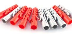 Plastic dowels Stock Image