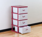 Plastic drawers Stock Photos