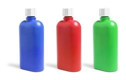 Plastic Drink Bottles Stock Photos