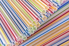 Plastic drinking straws,background. Close-up of plastic drinking straws,background Royalty Free Stock Photo