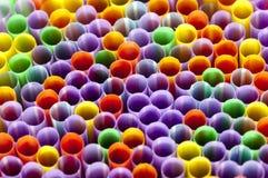 Plastic Drinking Straws royalty free stock image