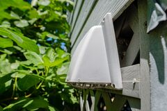 Free Plastic Dryer Exhaust Vent Hood On Side Of House Royalty Free Stock Photography - 182749617