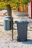Plastic dust bin Stock Image