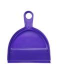 Plastic dustpan isolated on white background Royalty Free Stock Photo