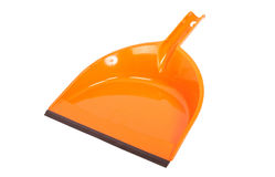 Plastic dustpan Stock Images