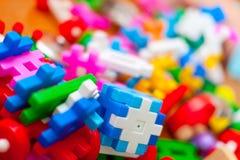 Plastic eccanoreeks Stock Fotografie
