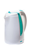Plastic electric kettle. Royalty Free Stock Photo