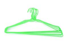 Plastic Enclosures hangers isolated on white background Royalty Free Stock Image