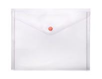 Plastic envelope Stock Images
