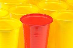 plastic exponeringsglas Arkivbilder