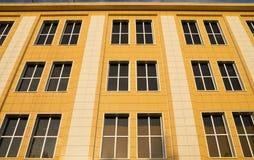 Plastic facade of a building Stock Photography